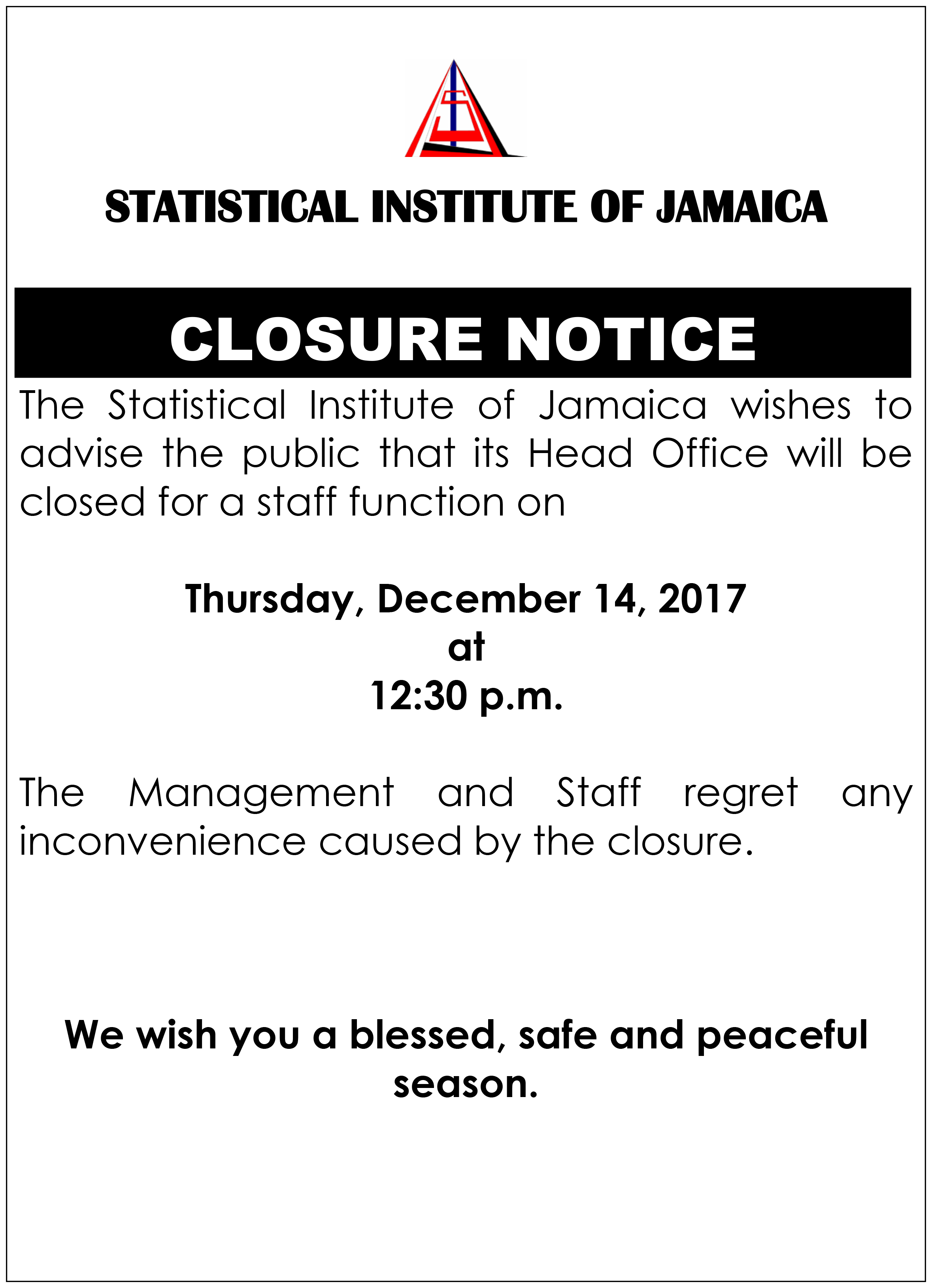 statin office closure